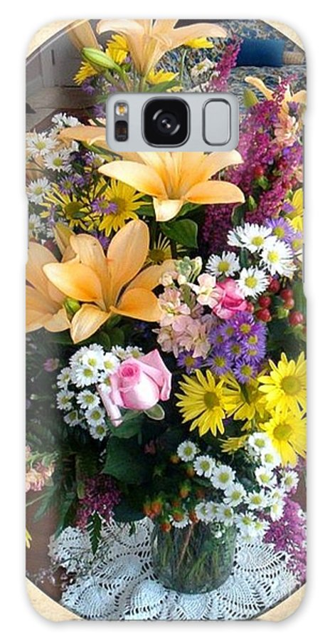 Bouquets Galaxy S8 Case featuring the photograph Bouquet by Charles Robinson