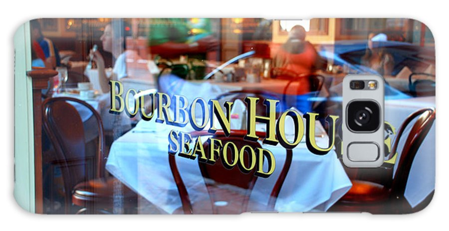 Bourbon House Seafood Galaxy S8 Case featuring the photograph Bourbon House by Jennifer Kelly