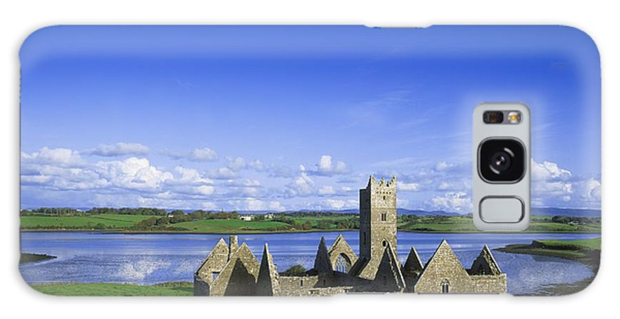 Ancient Ruins Galaxy S8 Case featuring the photograph Boyle Abbey, Ballina, Co Mayo by The Irish Image Collection