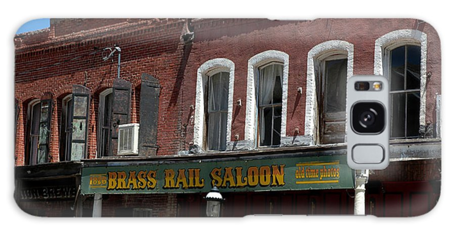 Usa Galaxy S8 Case featuring the photograph Brass Rail Saloon by LeeAnn McLaneGoetz McLaneGoetzStudioLLCcom