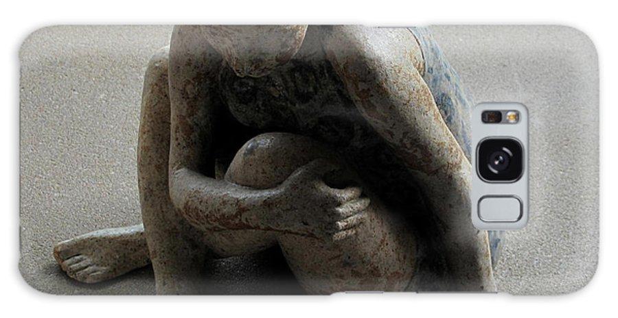 Sculpture Galaxy S8 Case featuring the sculpture Breakfast On The Grass by Raimonda Jatkeviciute-Kasparaviciene