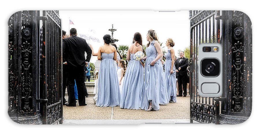 Bridal Galaxy S8 Case featuring the photograph Bridesmaids by Kathleen K Parker