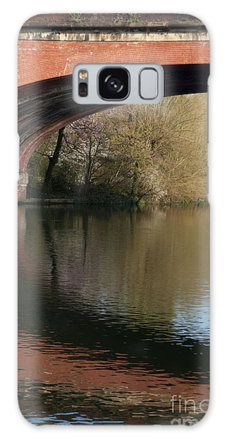 2011 Galaxy S8 Case featuring the photograph Bridge Reflections by Andrew Michael