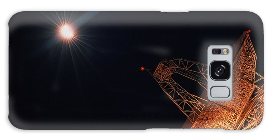 Bright Star And Satellite Dish Galaxy S8 Case featuring the photograph Bright Star And Satellite Dish by Nasa