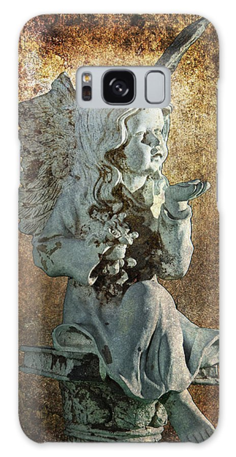 Art Galaxy S8 Case featuring the photograph Broken Angel by Randall Nyhof