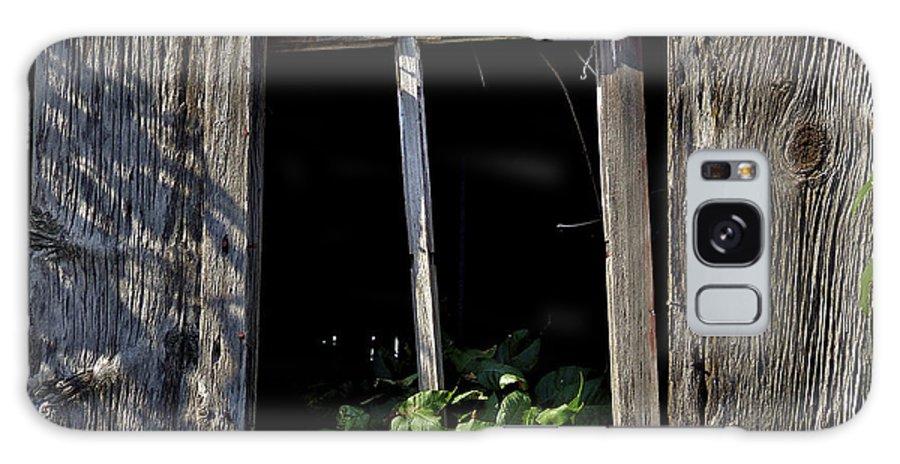 Facades Galaxy S8 Case featuring the photograph Broken Window Frame by Richard Gregurich