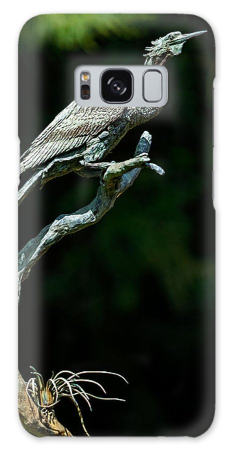 Christopher Holmes Photography Galaxy S8 Case featuring the photograph Bronze Cormorant by Christopher Holmes