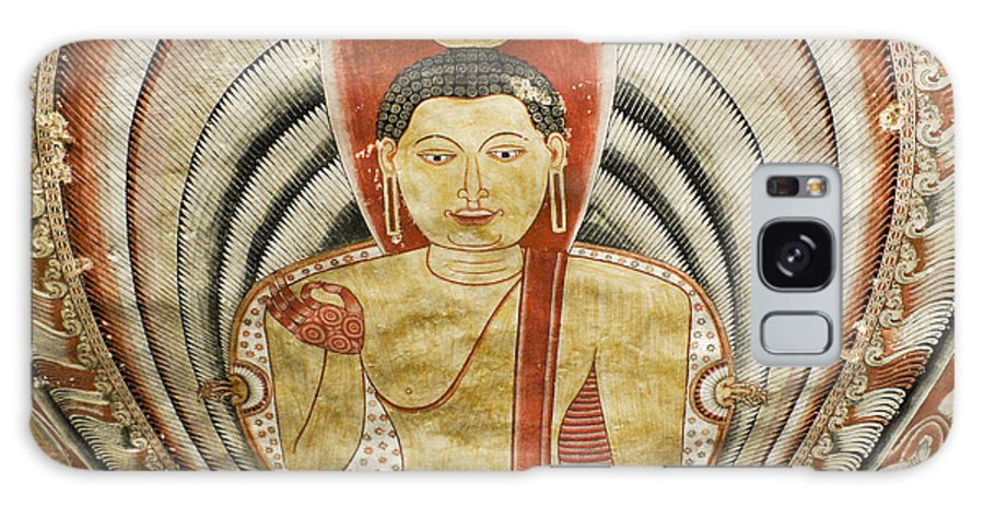 Asia Galaxy S8 Case featuring the photograph Buddha Painting In Sri Lanka by Michele Burgess