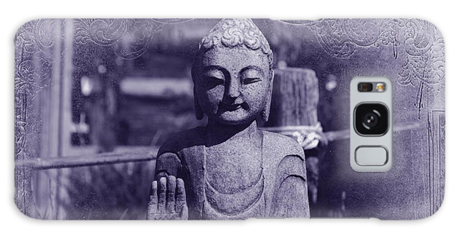 Buddha Galaxy S8 Case featuring the photograph Buddhas Words by Susanne Van Hulst