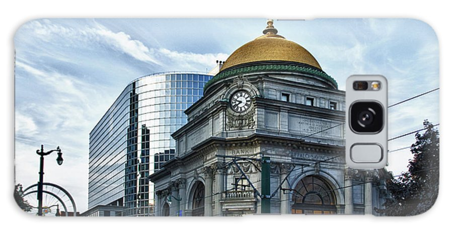 Architecture Galaxy S8 Case featuring the photograph Buffalo Savings Bank 11415 by Guy Whiteley