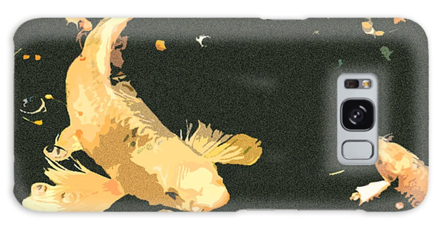 Koi Galaxy S8 Case featuring the photograph Butterfly Koi by Stephanie Haertling