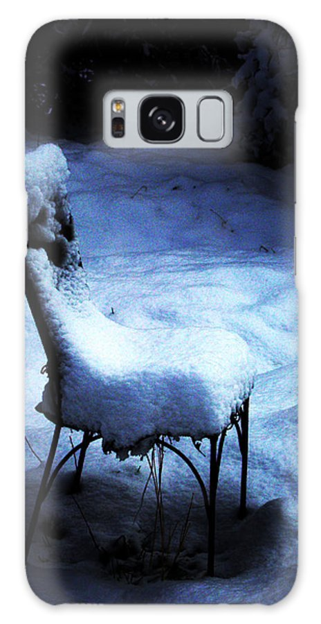 Winter Galaxy S8 Case featuring the photograph By The Light Of The Moon by Susanne Still