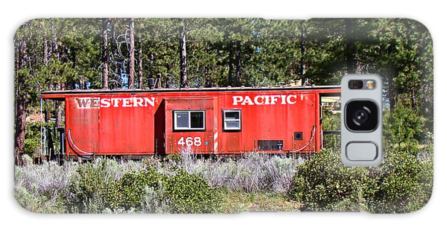 Caboose Galaxy S8 Case featuring the photograph Cabin Car by Nick Kloepping