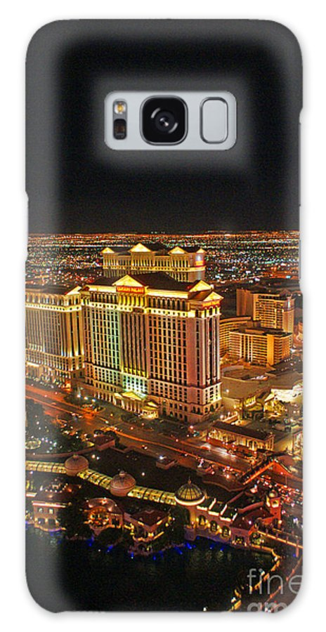 Las Vegas Galaxy S8 Case featuring the photograph Caesars Palace by Randy Harris
