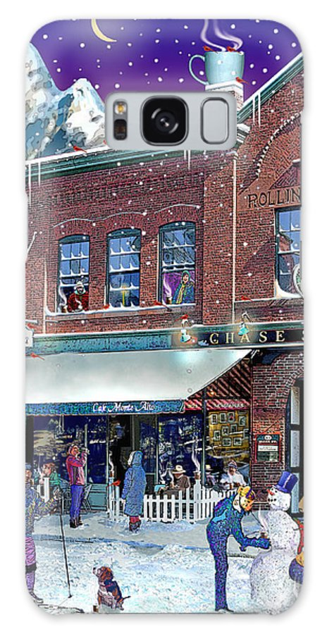 Prints Galaxy S8 Case featuring the photograph Cafe Monte Alto by Nancy Griswold