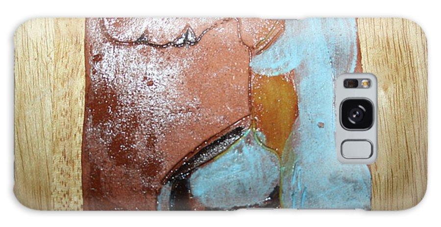 Jesus Galaxy S8 Case featuring the ceramic art Calendar - Tile by Gloria Ssali
