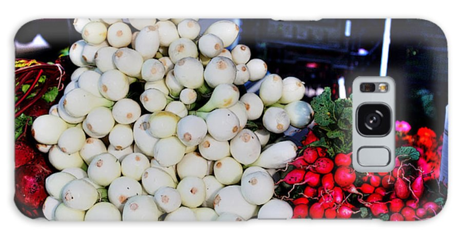 Sweet Onions Galaxy S8 Case featuring the photograph Candy Sweet Onions by David Bearden