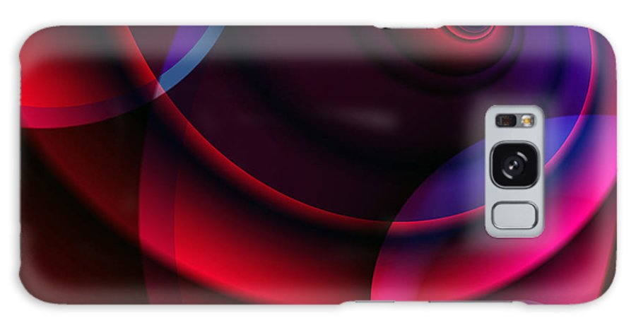 Clay Galaxy S8 Case featuring the digital art Candy Swirls by Clayton Bruster