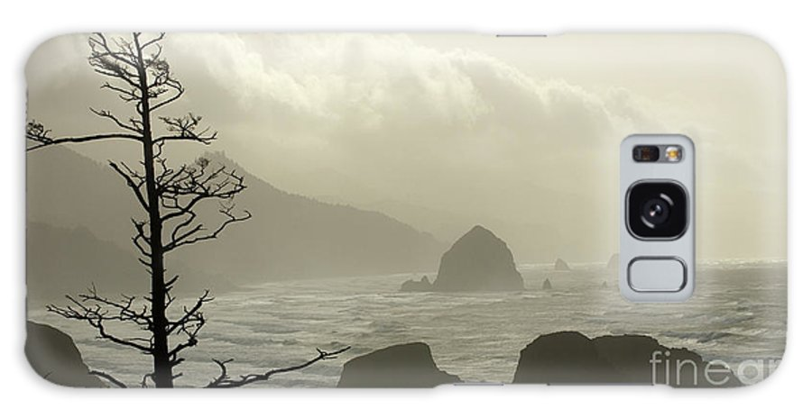 Pacific Ocean Galaxy S8 Case featuring the photograph Cannon Beach 2 by Bob Christopher