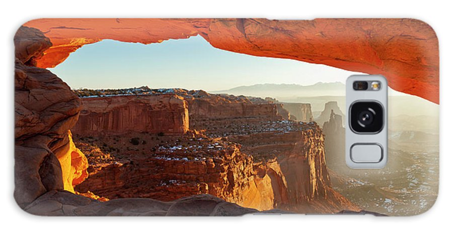 Canyonlands Galaxy S8 Case featuring the photograph Canyonlands Sunrise by D Robert Franz