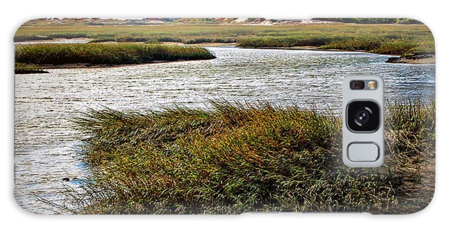 Cape Cod National Seashore Galaxy S8 Case featuring the photograph Cape Cod National Seashore by Joan Minchak