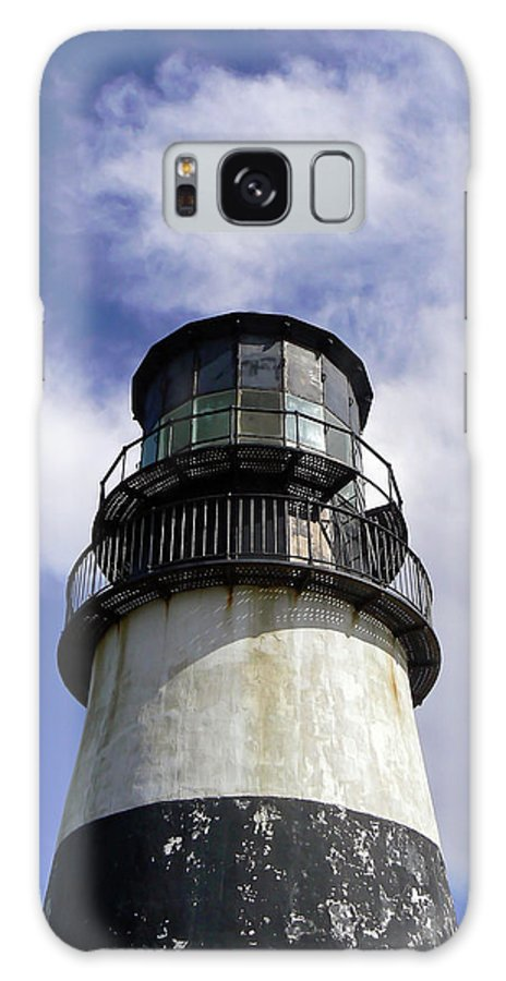 Lighthouse Galaxy S8 Case featuring the photograph Cape Disappointment Lighthouse 001 by Pamela Patch