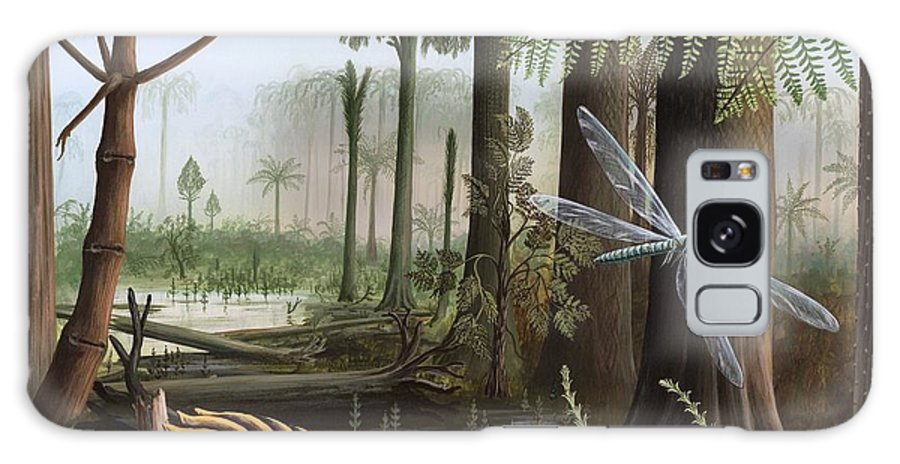 Carboniferous Insects Artwork Galaxy S8 Case For Sale By Richard Bizley