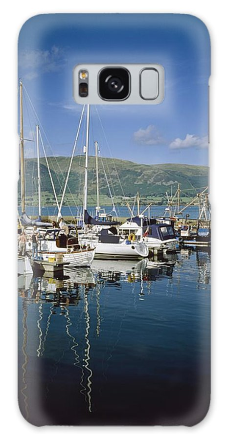 Blue Sky Galaxy S8 Case featuring the photograph Carlingford Yacht Marina, Co Louth by The Irish Image Collection