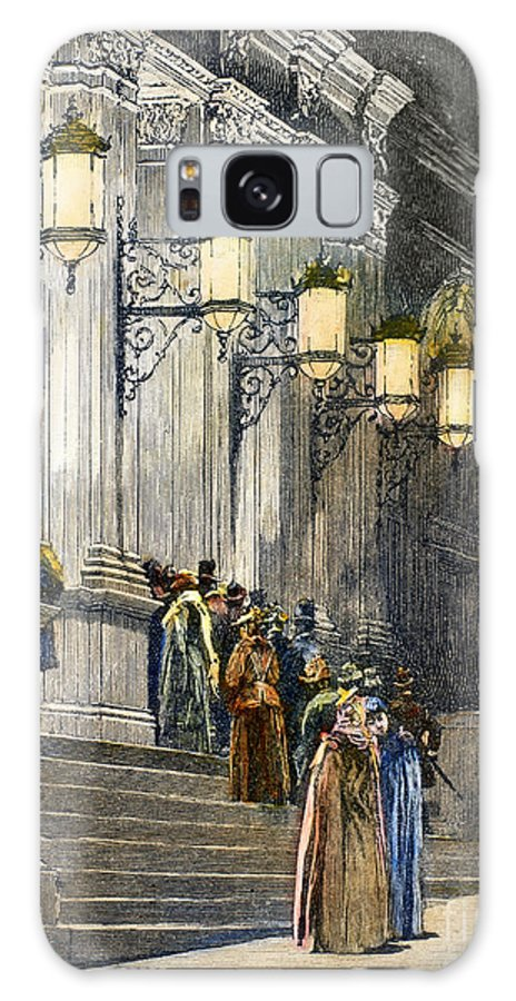 1891 Galaxy S8 Case featuring the photograph Carnegie Hall, 1891 by Granger