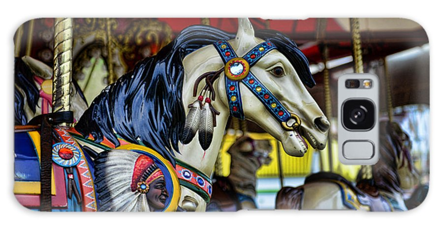 Carousel Galaxy S8 Case featuring the photograph Carousel Horse 6 by Paul Ward