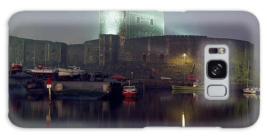 Archaeology Galaxy S8 Case featuring the photograph Carrickfergus Castle & Harbour, Co by The Irish Image Collection