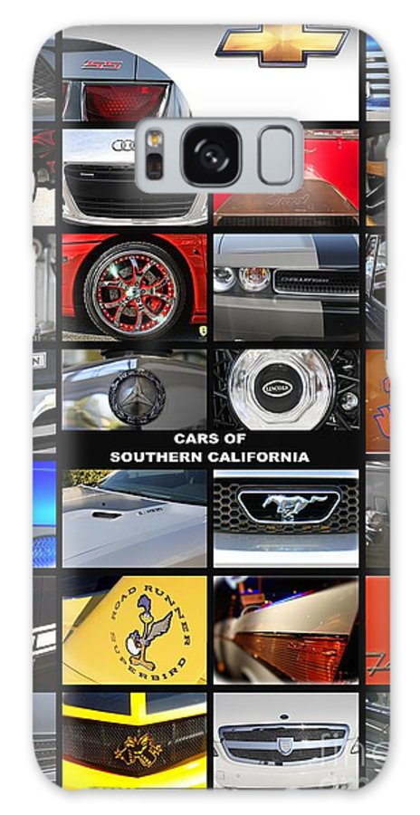 Cars Galaxy S8 Case featuring the photograph Cars Of Southern California by Tommy Anderson