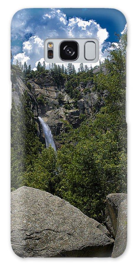 Falls Galaxy S8 Case featuring the photograph Cascade Falls Yosemite National Park by LeeAnn McLaneGoetz McLaneGoetzStudioLLCcom