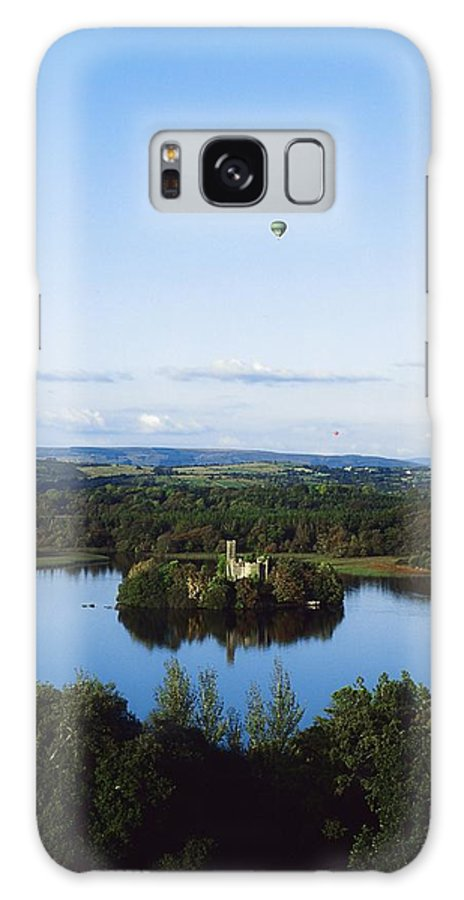 Blue Sky Galaxy S8 Case featuring the photograph Castle Island, Lough Key Forest Park by The Irish Image Collection