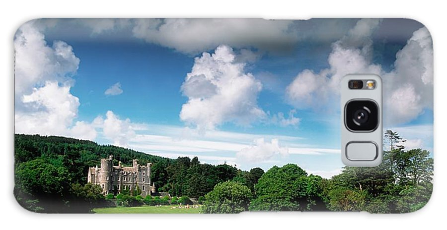 Field Galaxy S8 Case featuring the photograph Castlewellan Castle & Lake, Co Down by The Irish Image Collection