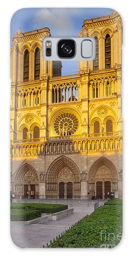 Architectural Galaxy S8 Case featuring the photograph Cathedral Notre Dame by Brian Jannsen