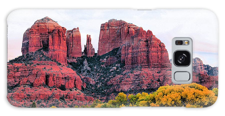 Cathedral Rock Galaxy S8 Case featuring the photograph Cathedral Rock by Kristin Elmquist