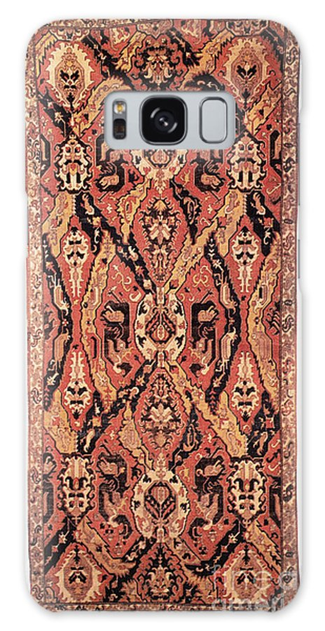 1680 Galaxy S8 Case featuring the photograph Caucasus: Carpet, C1680 by Granger
