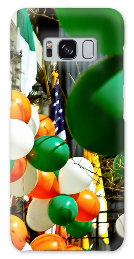 Balloons Galaxy S8 Case featuring the photograph Celebrate Saint Patrick's Day by Carol F Austin
