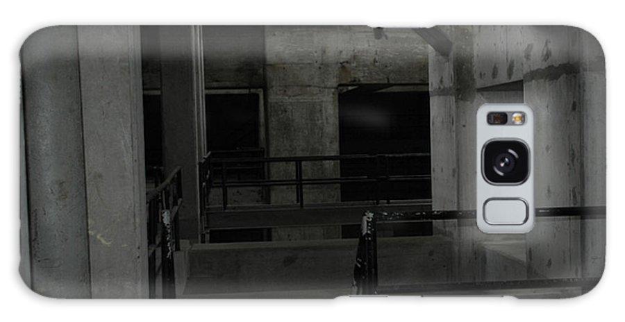 Urban Exploration Galaxy S8 Case featuring the photograph Cement Deco by April Davis