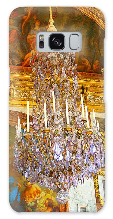Chandelier Galaxy S8 Case featuring the photograph Chandelier At Versailles by Diana Haronis