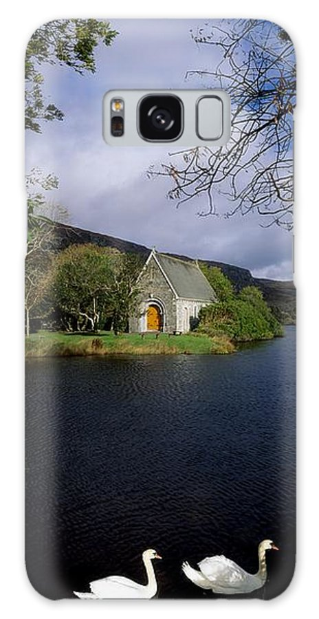 Birds Galaxy S8 Case featuring the photograph Chapel At Gougane Barra, Co Cork by The Irish Image Collection