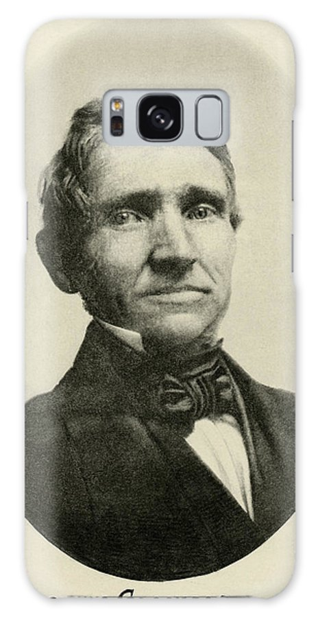Charles Goodyear Galaxy S8 Case featuring the photograph Charles Goodyear, American Inventor by Humanities & Social Sciences Librarynew York Public Library
