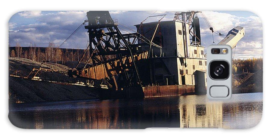 Chatanika Gold Dredge Galaxy S8 Case featuring the photograph Chatanika Gold Dredge, Alaska by Alan Sirulnikoff