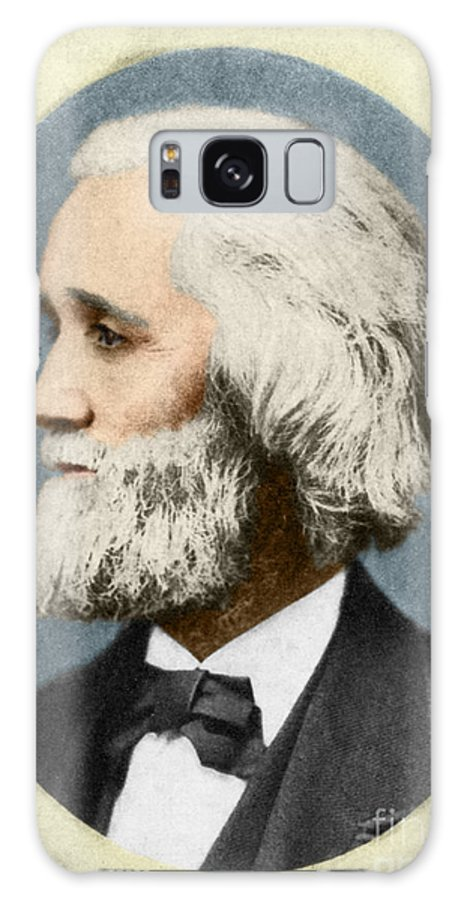 History Galaxy S8 Case featuring the photograph Christopher Sholes, American Inventor by Photo Researchers
