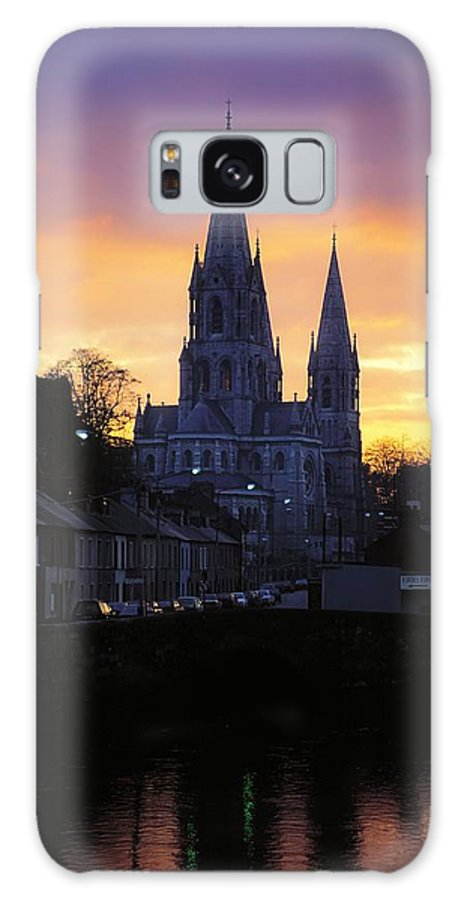 Back Lit Galaxy S8 Case featuring the photograph Church In A Town, Ireland by The Irish Image Collection