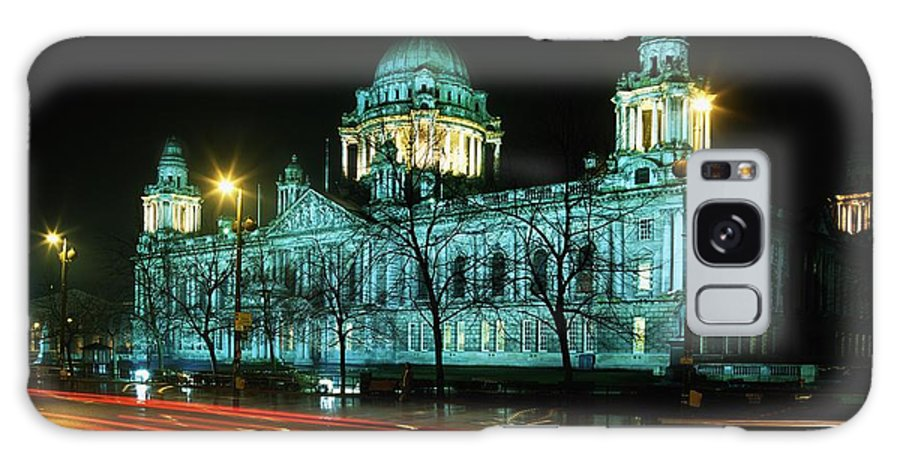 Architecture Galaxy S8 Case featuring the photograph City Hall, Belfast, Ireland by The Irish Image Collection