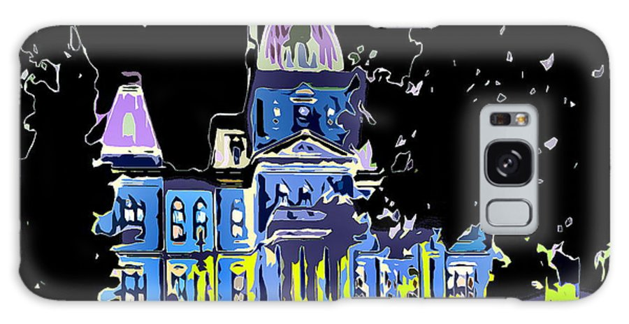 Government Building Galaxy S8 Case featuring the photograph City Hall by Burney Lieberman