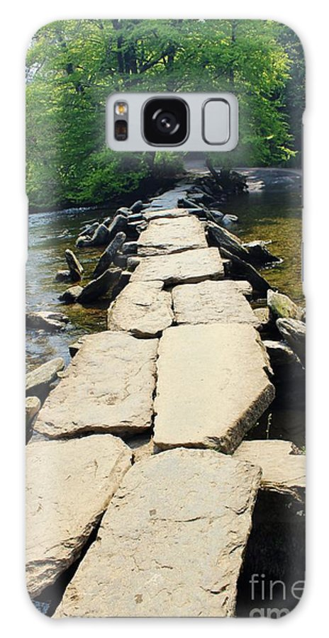 Foot Bridge Galaxy S8 Case featuring the photograph Clapper Bridge-sommerset by Rene Triay Photography
