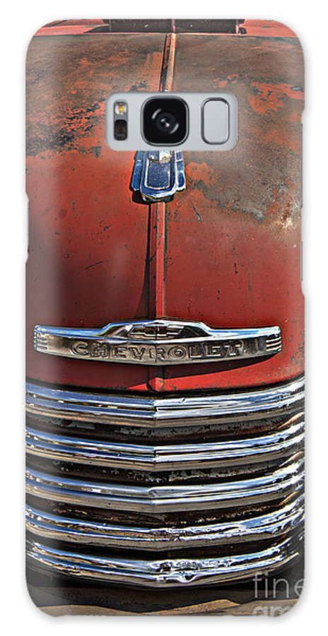 Chevy Galaxy S8 Case featuring the photograph Classic 50s Chevy by Darleen Stry